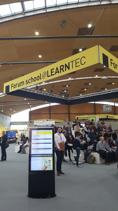 Digital Signage at Learntec 2018